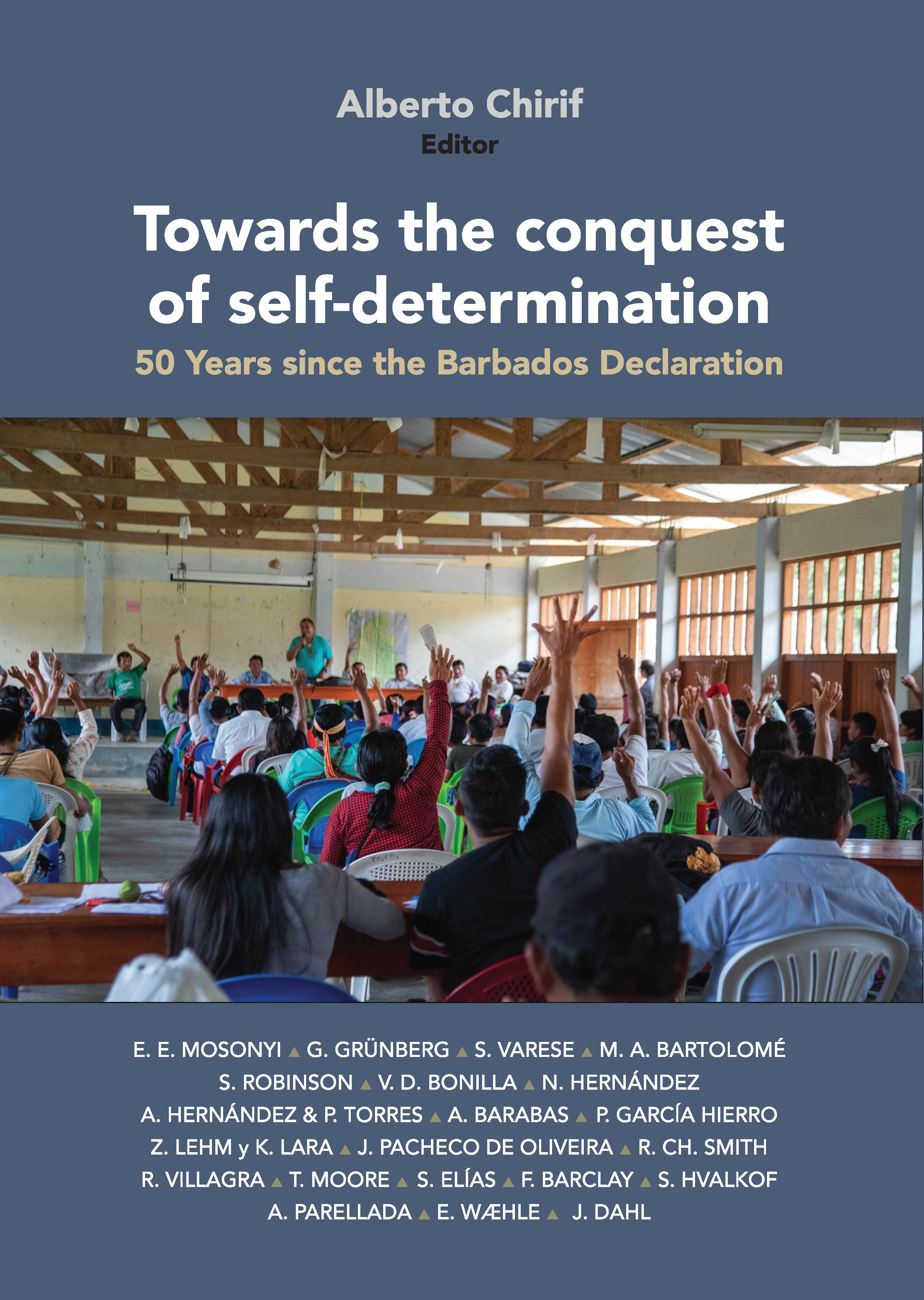 Cover of the IWGIA Barbados + 50 book