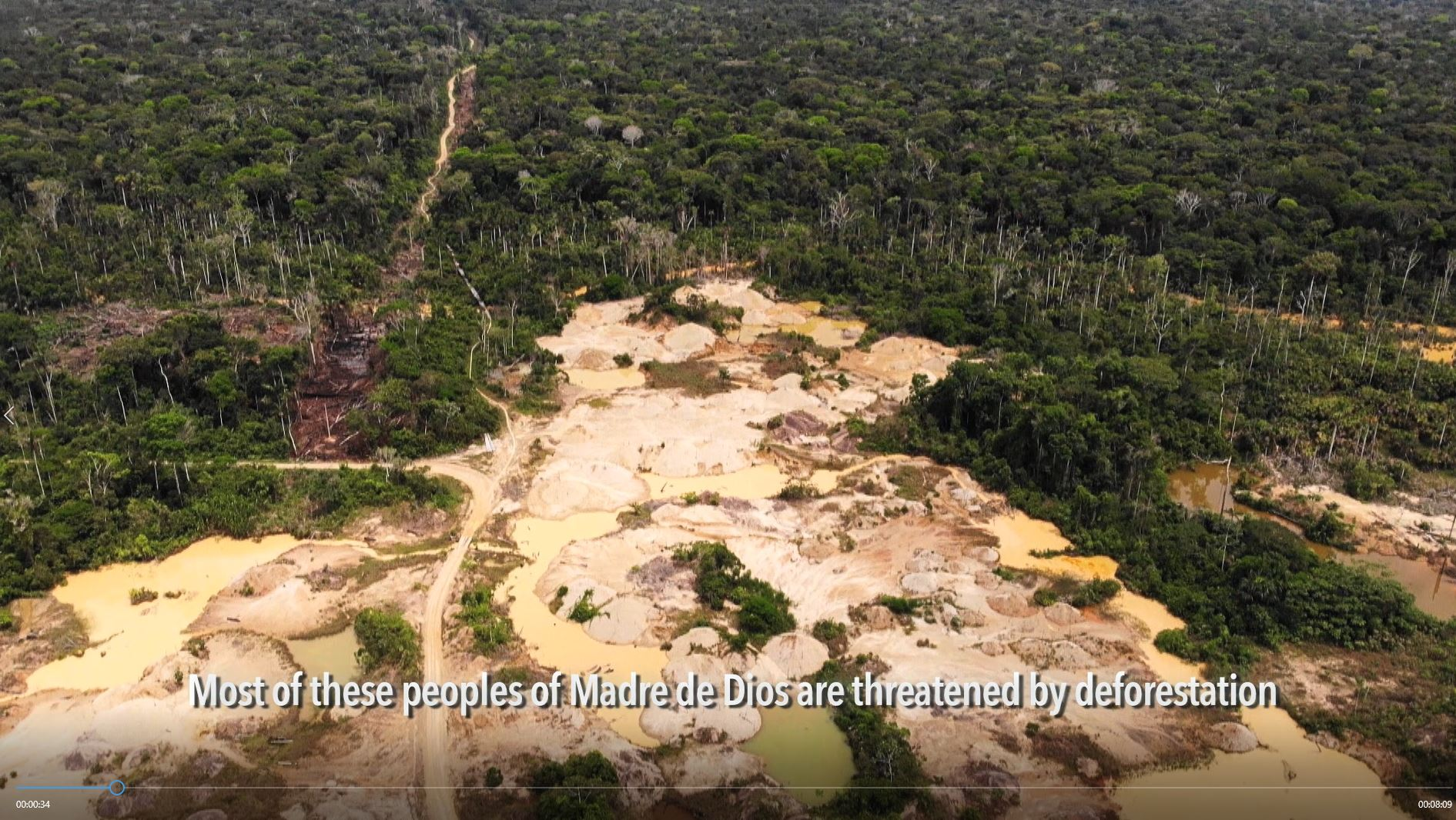 Threats against indigenous peoples living in Madre de Dios, Peru