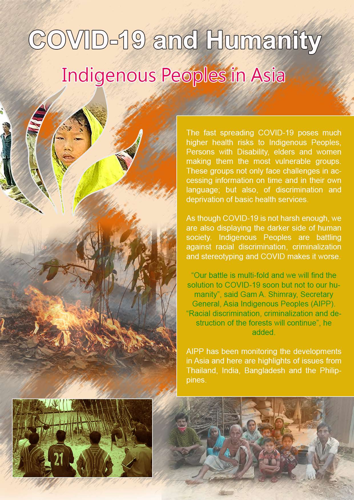COVID-19 and Humanity: Indigenous Peoples in Asia