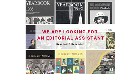 IWGIA is looking for an Editorial Assistant Intern