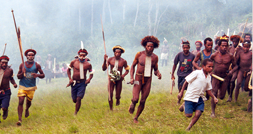 Indigenous peoples protest in West Papua