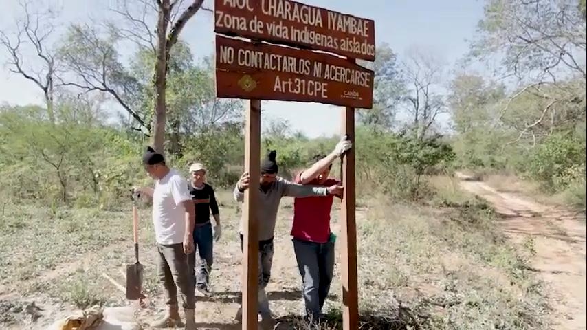 Protección de territorio ayoreo en aislamiento en Bolivia