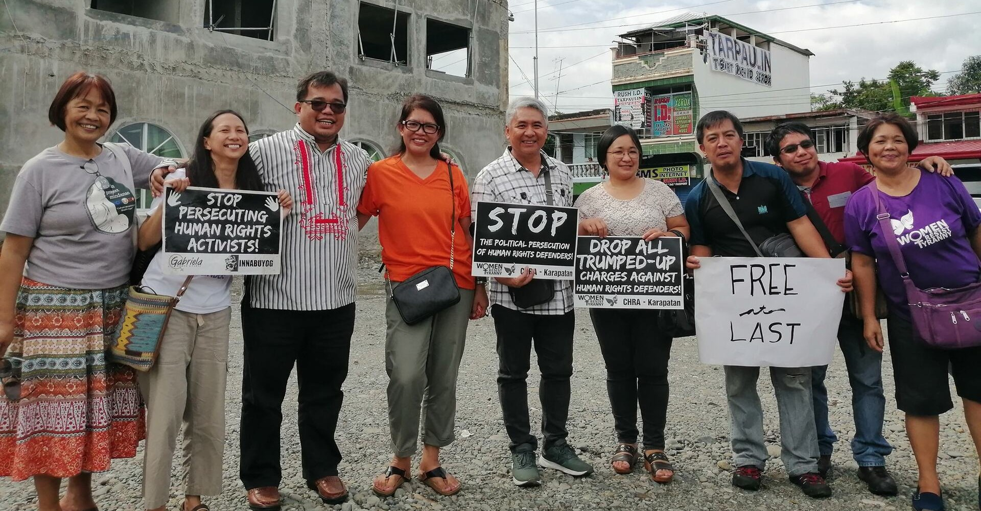 Philippines: false accusations, persecution and imprisonment of Indigenous women